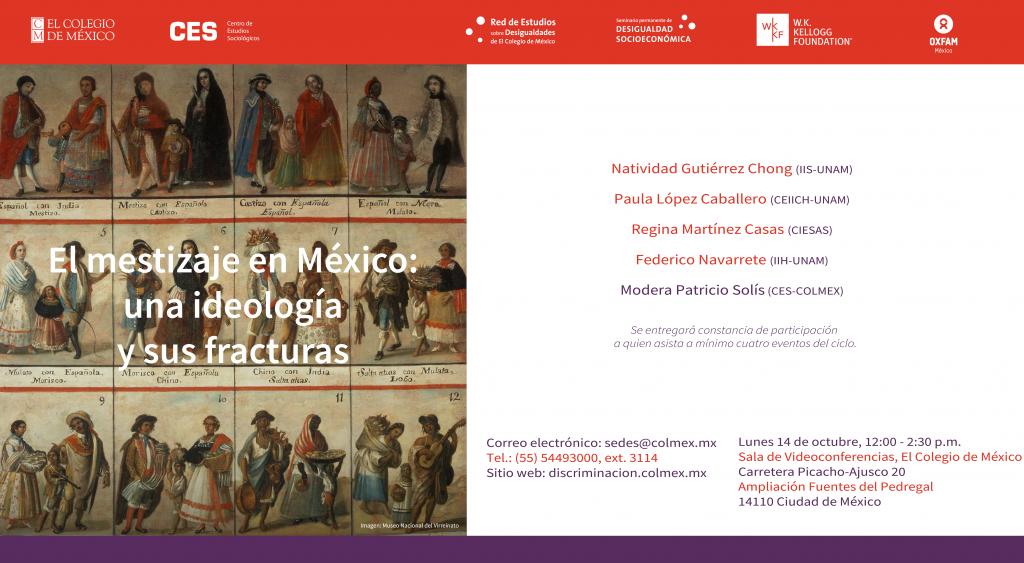 El Mestizaje en México: una ideología y sus fracturas